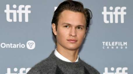 """Ansel Elgort attends """"The Goldfinch"""" news conference during"""