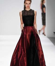 Carmen Marc Valvo's Fall 2013 collection was much
