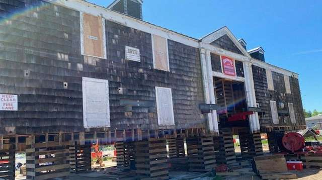 Southampton Town's renovation of the historic Tupper Boathouse