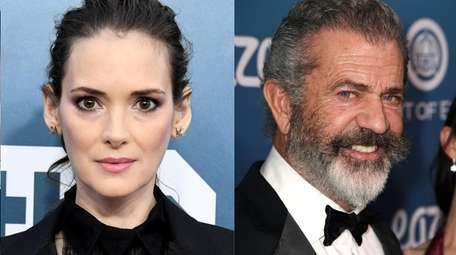 Winona Ryder and Mel Gibson appear in a