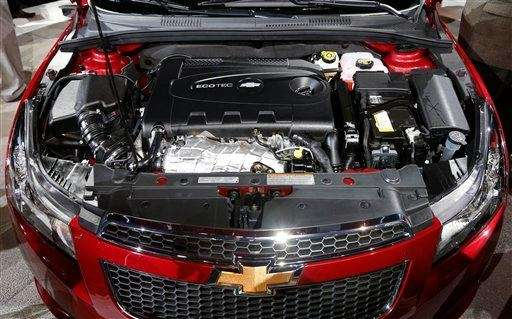 The 2014 Chevrolet Cruze Diesel engine is unveiled