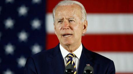 Democratic presidential candidate, former Vice President Joe Biden