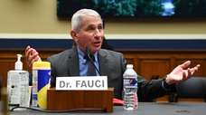 Dr. Anthony Fauci, the government's top infectious diseases