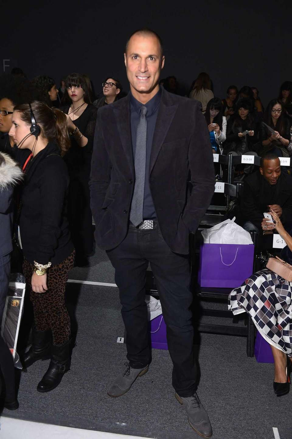 Photographer Nigel Barker attends the Noon By Noor