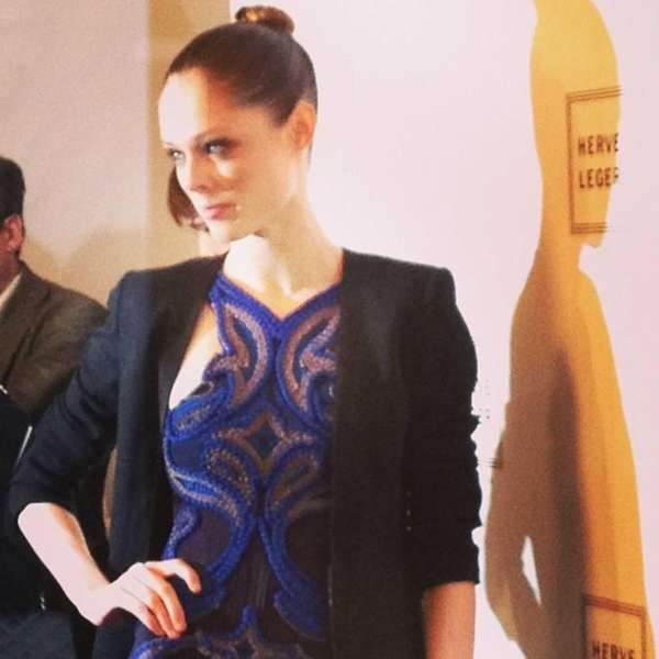 Canadian @CocoRocha in @HerveLeger said she was not