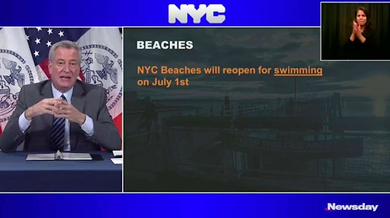Swimming at New York City's beaches will be