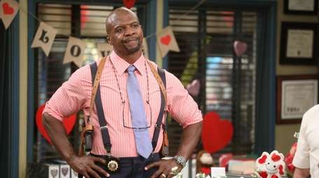 Terry Crews as Lt. Terry Jeffords on NBC's