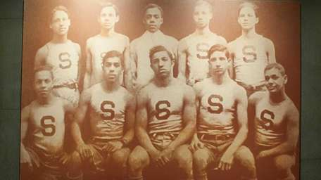 A photograph of the Smart Set Athletic Club