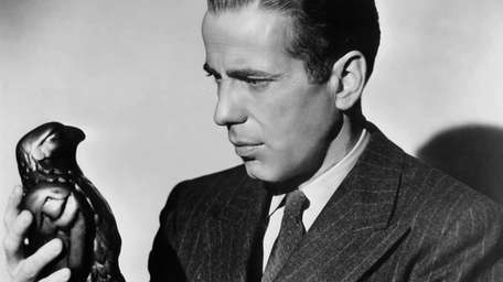 Humphrey Bogart plays detective Sam Spade in the