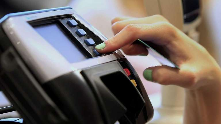 For credit card users in New York, there