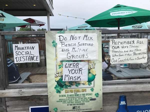 The Nautical Mile in Freeport featured in an