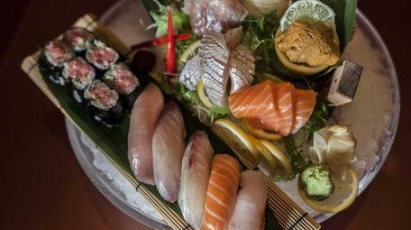 At Ginza sushi restaurant in Massapequa, the Ginza