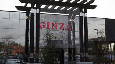 Exterior of Ginza in Massapequa.