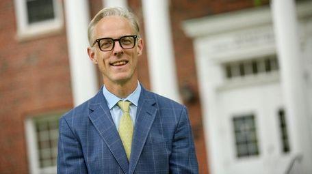 Joshua Crane, head of the Stony Brook School,