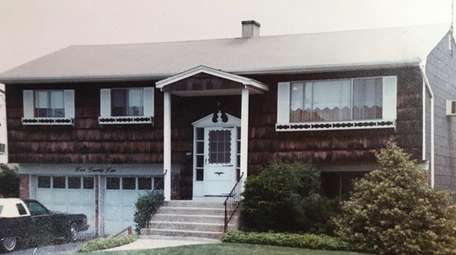 The Thompson family home in Freeport in 1979.