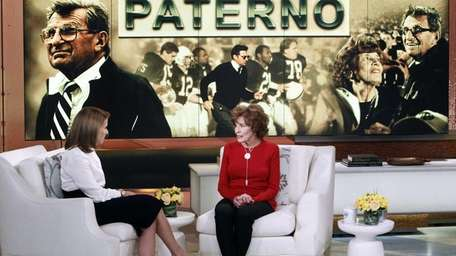 In this photo released by ABC, Sue Paterno,