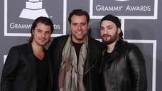 The Swedish House Mafia arrives for the 55th