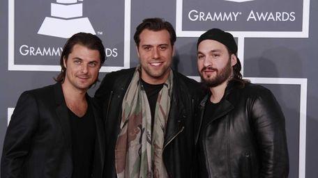 The Swedish House Mafia arrives for the 55th