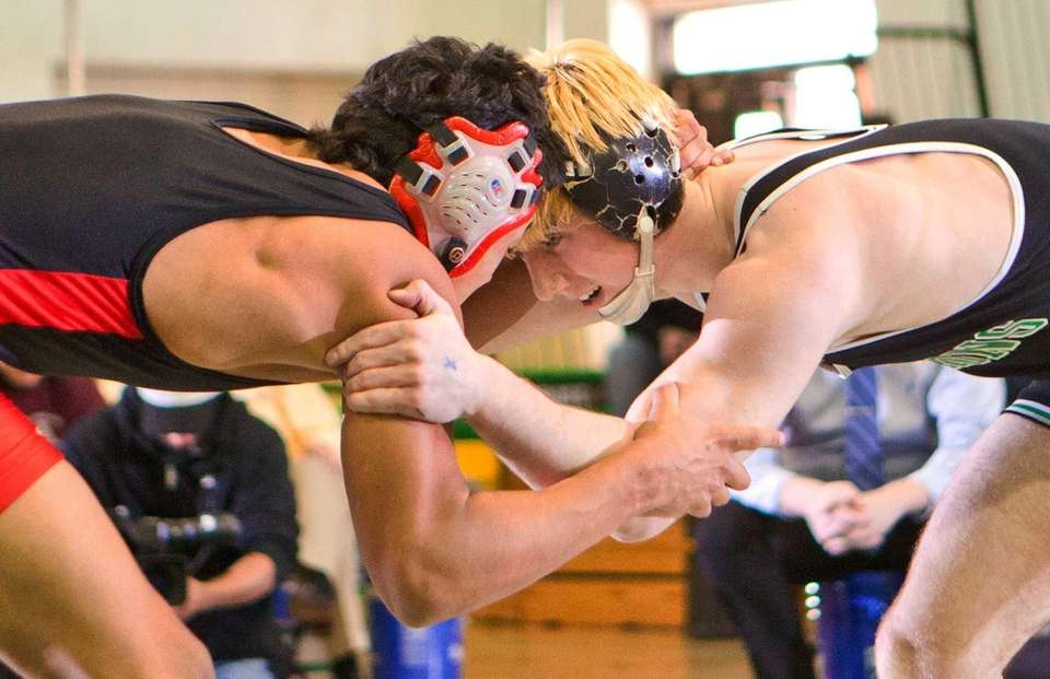 Locust Valley's Sam Ward, right, beat Wheatley's Erik