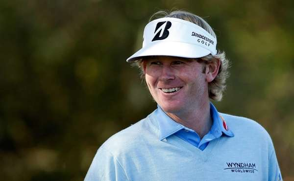 Brandt Snedeker waits on the second tee during