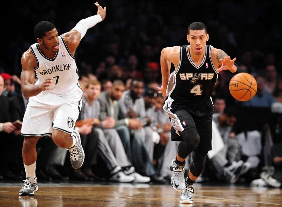 Danny Green of the San Antonio Spurs is