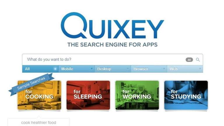 Quixey.com is a search engine that helps locate