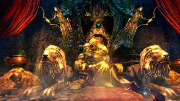 "A screengrab shows the gameplay in ""Trine 2:"