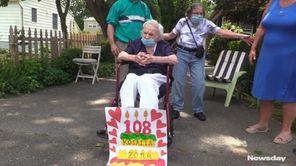 Family and friendscelebrated the 108th birthdayof Rosalia Zoneof