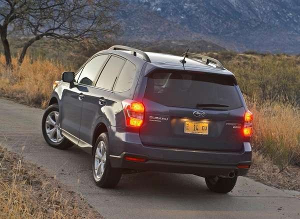The 2014 Subaru Forester boasts standard all-wheel-drive, room