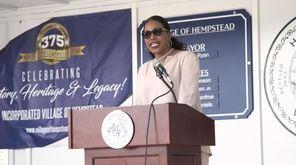 Ilyasah Shabazz, daughter of civil rights leader Malcolm