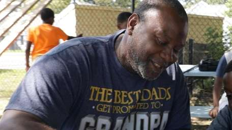 Yazid Owens, a COTA member turned mentor, seen