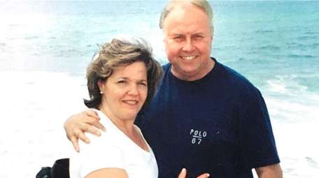 Christine and Michael Szap, seen in a 2019