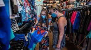 Marie Bosconi, owner of Lovely Lady Lumps Swimwear