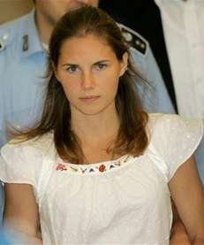 Amanda Knox, who has written a book called