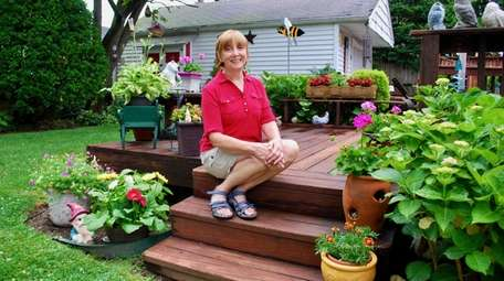 "Jane Shelley of Wantagh wrote about her ""garden"