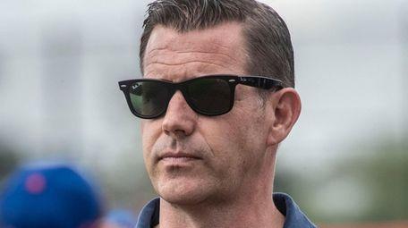 Mets general manager Brodie Van Wagenen during a