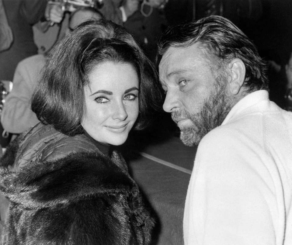 Elizabeth Taylor and Richard Burton: Taylor was famously