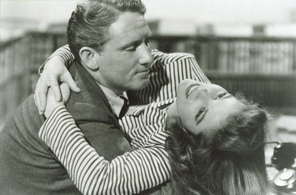 Katharine Hepburn and Spencer Tracy are frequent co-stars