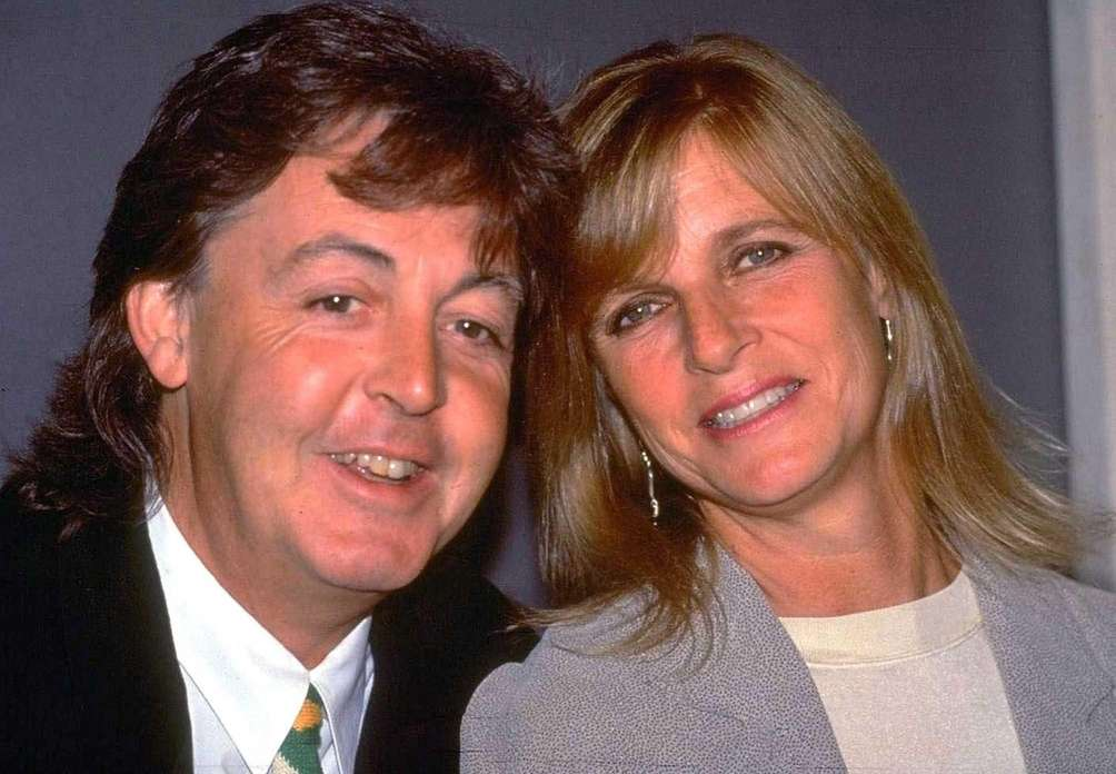 Paul and Linda McCartney: The former Beatle married