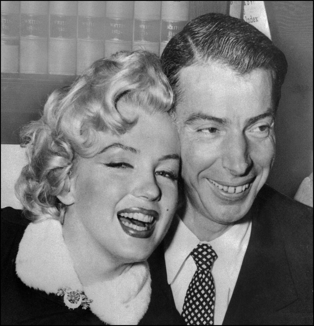 Marilyn Monroe and Joe DiMaggio: The screen icon