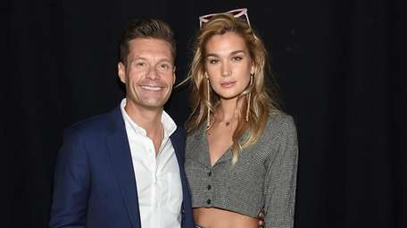 Ryan Seacrest and model Shayna Taylor a New