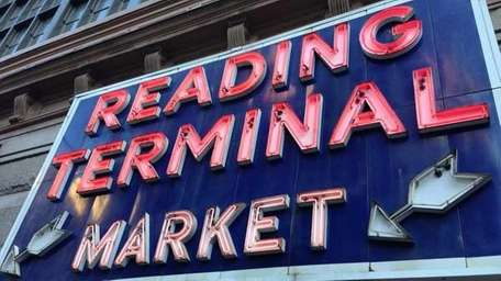 The Reading Terminal Market in Philadelphia has everything