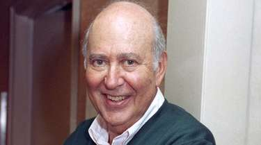 Writer-comedian and film director Carl Reiner after an
