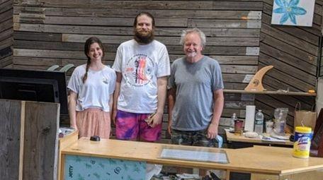 Luke Hamlet, 62, owns Long Beach Surf Shop