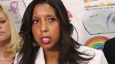 Superintendent Aurelia Henriquez's salary was $184,324 in 2017-18,