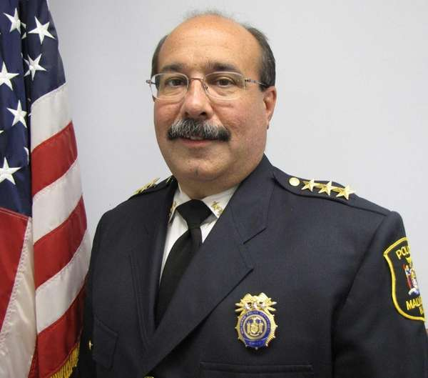 Malverne police Chief John Aresta lost one of
