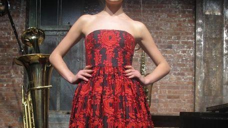 A model wears Alice + Olivia Fall 2013