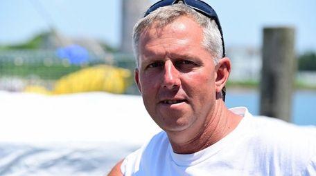 Fisherman Vinny Damm in Montauk on June 23.