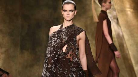Every piece in Donna Karan's Fall 2013 collection