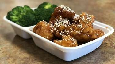 At Danny's Chinese Kitchen in Massapequa, sesame chicken